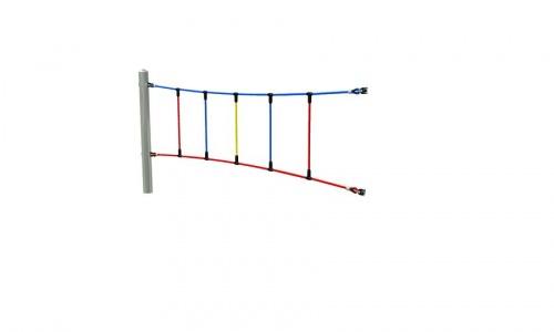 Obloukové lano segment