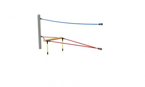 Provazové lano segment