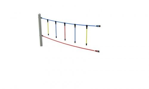 Ručkovací lana segment